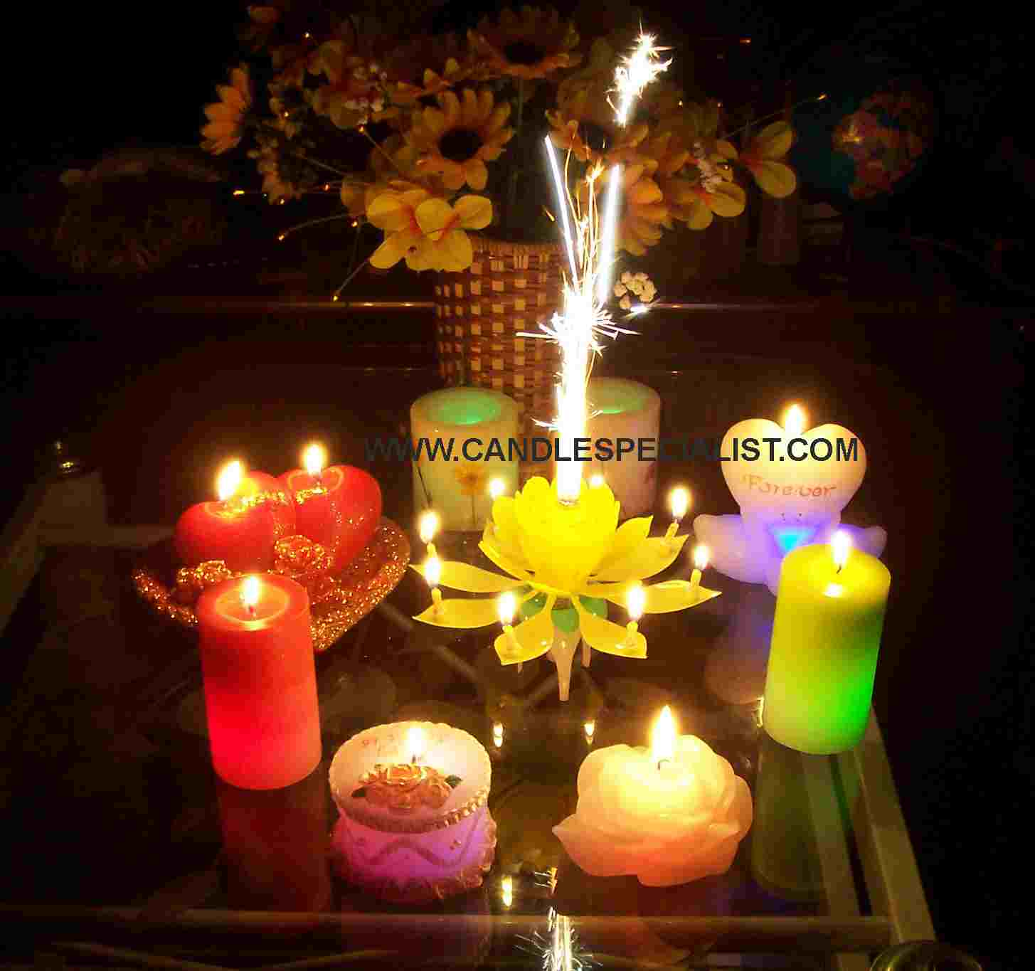 mừng ngày sinh mitngan 1275025756_fireworks_music_birthday_candle_magic_flower_cake_candle1